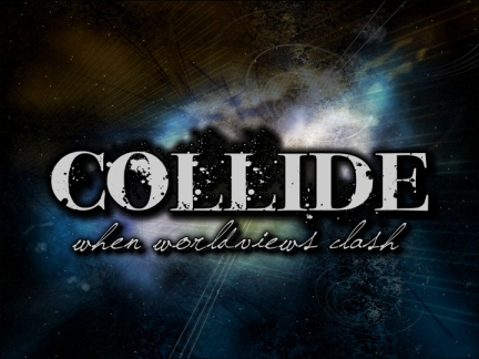 Collide graphic